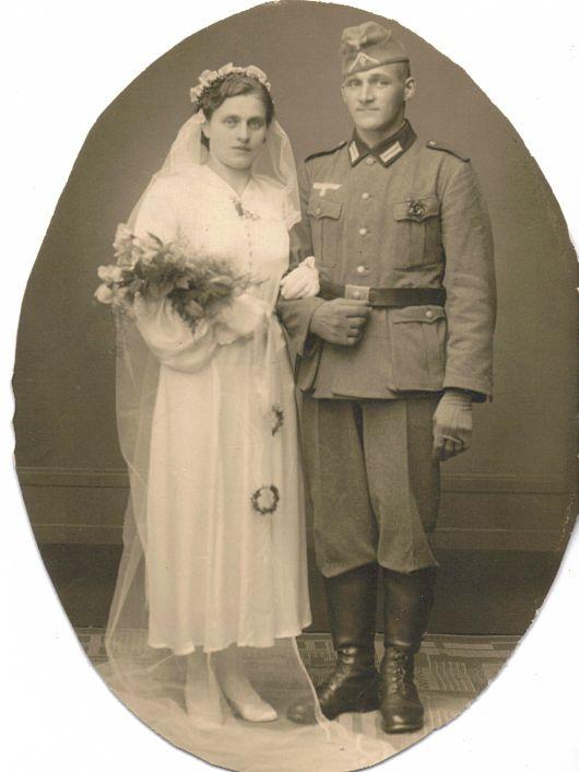 Hochzeitsfoto Anna Spickermann und Albinus Bernhard Klatt